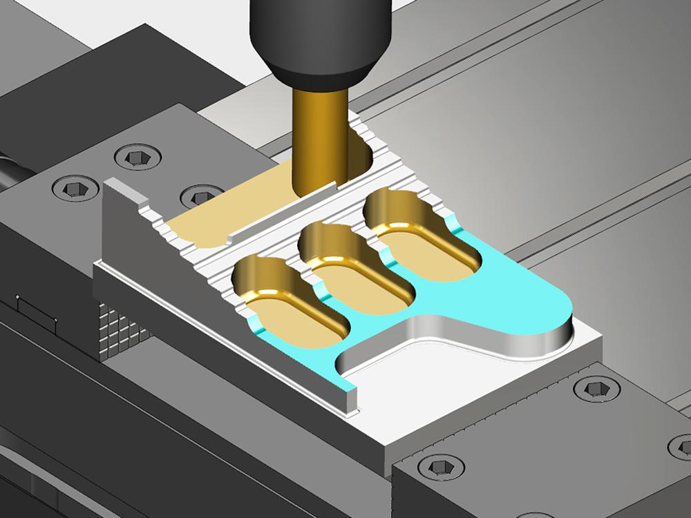 A VERICUT oferece simulações 3D realistas de todas as máquinas CNC, exatamente como se comportam na loja, com a detecção de colisões mais precisa disponível.